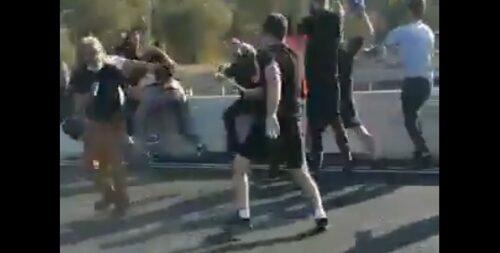 На Шаар ха-Гае азербайджанцы устроили драку с армянами, 9 арестованных, двое в больнице