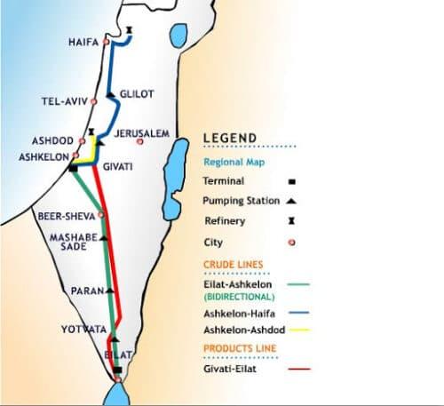 Израиль начнет поставки нефти из ОАЭ в Европу