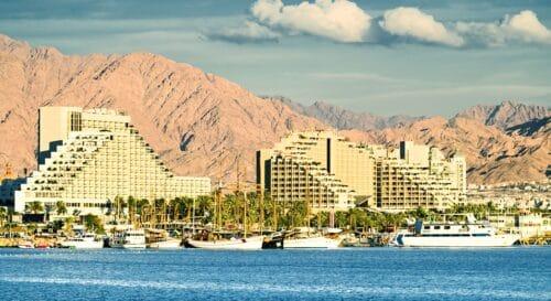 «Зелеными туристическими зонами» станут Эйлат и Мертвое море