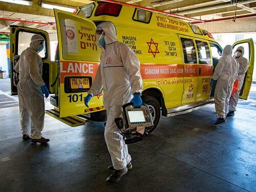 Число госпитализированных больных в Израиле сокращается