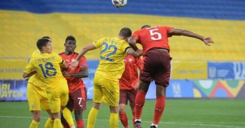 Футбол: COVID-19 и Швейцария выиграли у Украины