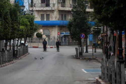 В Палестинской автономии ввели полный локдаун