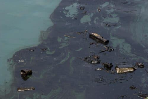 Европейский спутник заснял вероятный источник загрязнения израильских пляжей