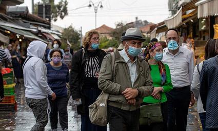Коэффициент инфицирования в Израиле растет