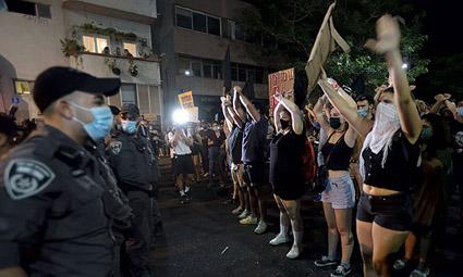 Ограничение демонстраций в Израиле километровой зоной признано незаконным