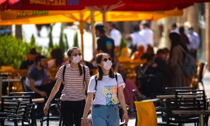 Отмена обязательного ношения масок на улице в Израиле с 18 апреля