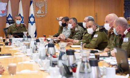 Армия обороны Израиля и полиция провели совместную оценку ситуации в сфере безопасности