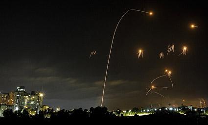 За вечер 10.05 из сектора Газы в сторону Израиля были запущены не менее 150 ракет