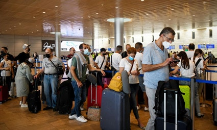 Открытие Израиля для вакцинированных иностранных туристов отсрочено на месяц