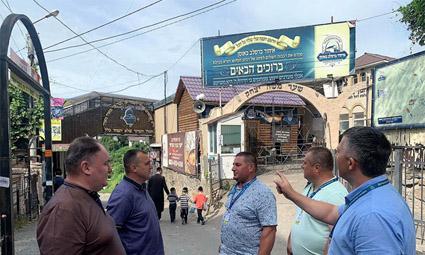 В Умань за месяц до Рош а-Шана уже прибыли из-за рубежа 5 тысяч хасидов