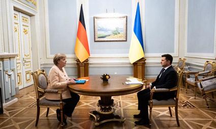Россия является участницей конфликта на Донбассе — Ангела Меркель