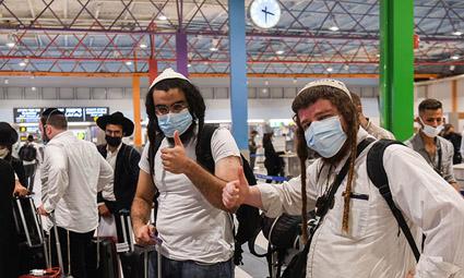 Около двух тысяч израильтян вынуждены задержаться в Украине из-за положительных тестов на коронавирус
