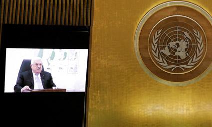 «Даем вам год на возвращение в границы 67 года» — Абу Мазен предъявил Израилю ультиматум с трибуны ООН